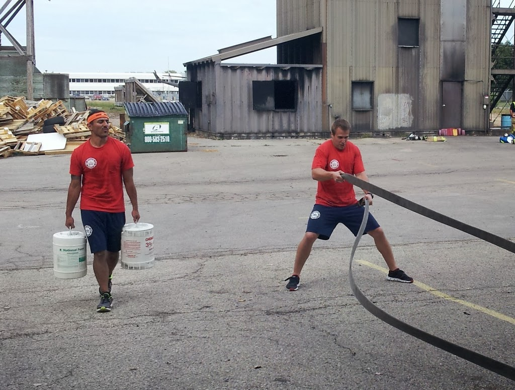 Firefighter Cardio Interval Workout