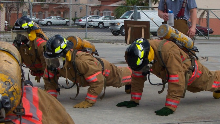 A Great Fire Station Workout Fire Rescue Fitness