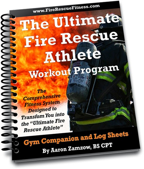 The ultimate fire rescue athlete workout fire rescue fitness ultimeate fire athlete spiralbinderclosed gym companion fandeluxe
