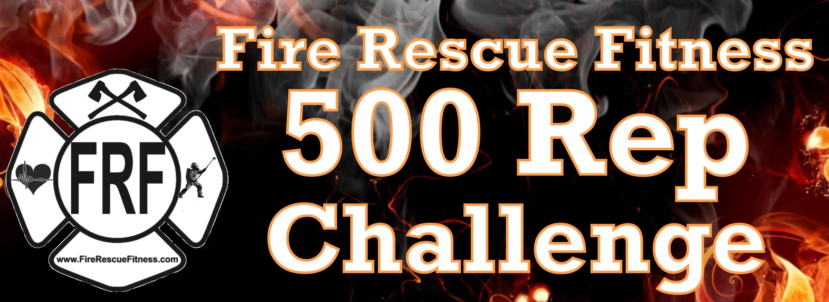 The FRF (Fire Rescue Fit) Body Weight 500- Rep Workout | Fire Rescue