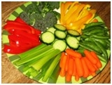 veggies platter