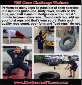 crew challenge workout