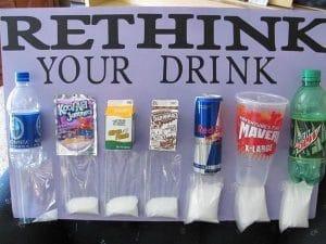 rethink your drink sugar