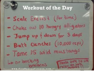 funny workout of the day-frf