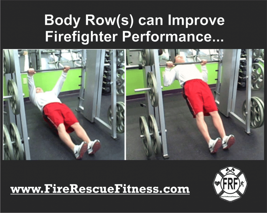 body rows for improved performance