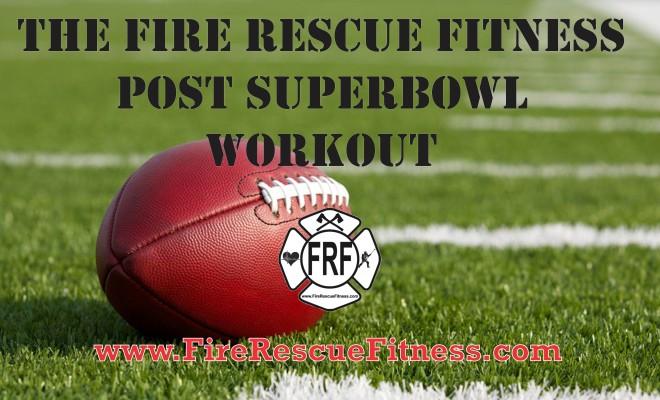 frf superbowl workout