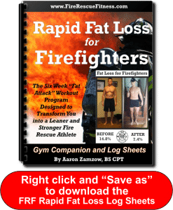 Save as graphic for product- Fat Loss Log Sheets