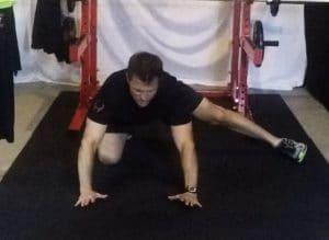 kickstand stretch