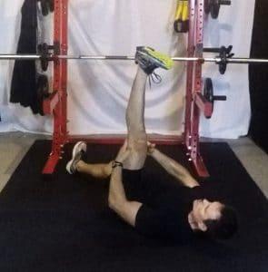 straight leg raise stretch