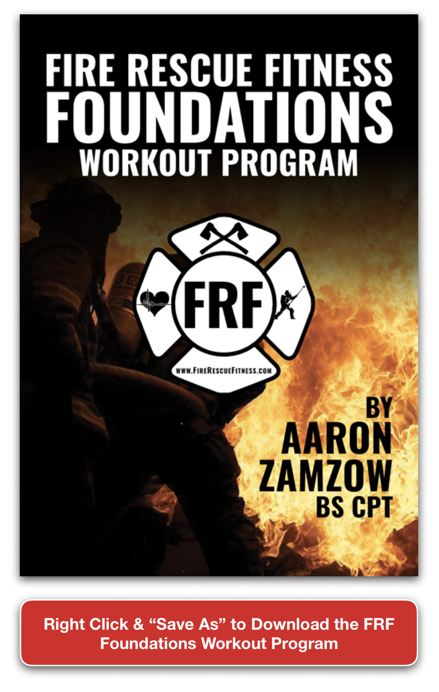 frf foundations workout save as button