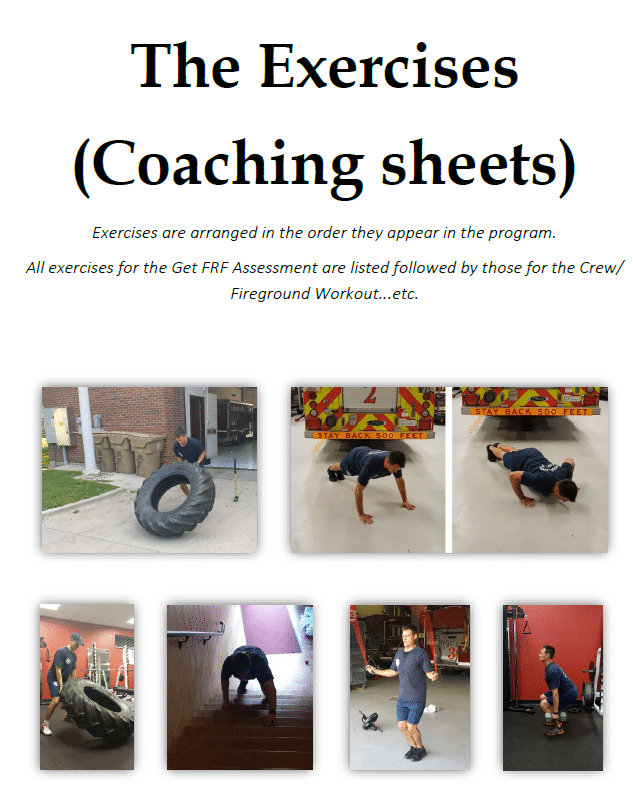 exercises-coahing-sheets