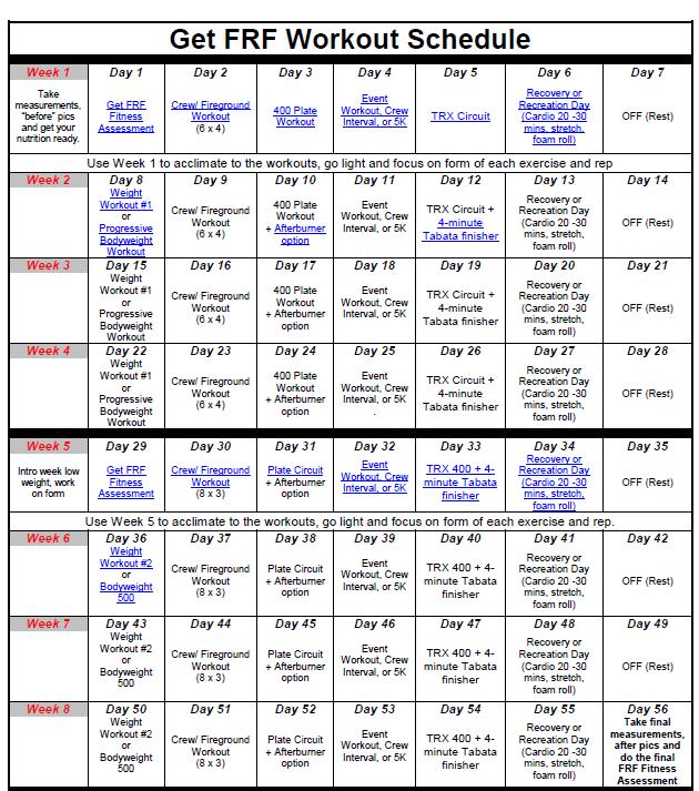 getfrf-schedule