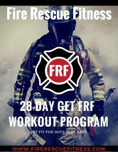 FRF 28-day workout program cover
