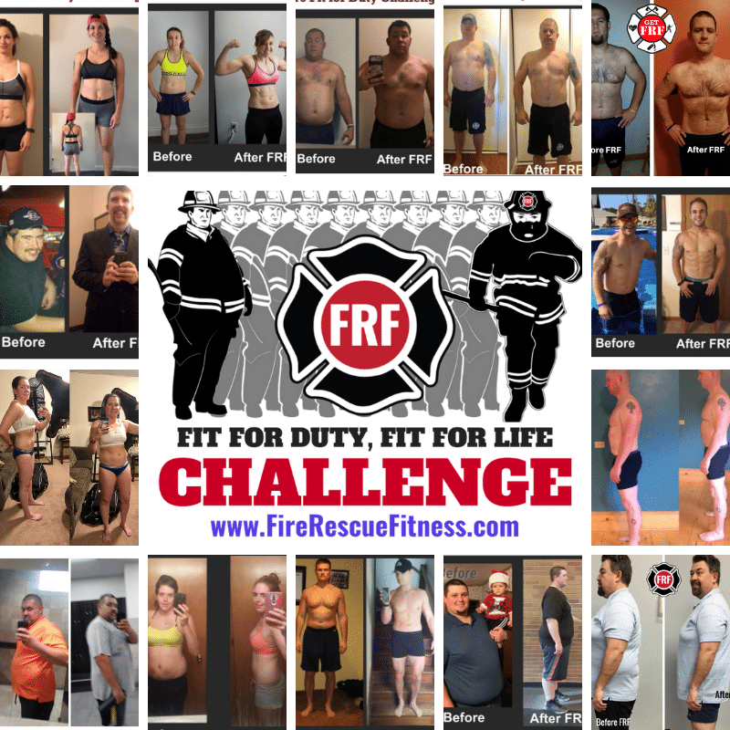 Join the FRF Fit for Duty Challenge