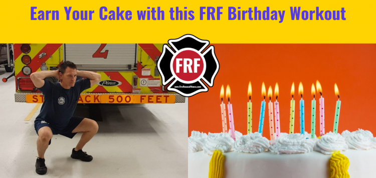Fire Rescue Fitness Birthday Challenge Workout
