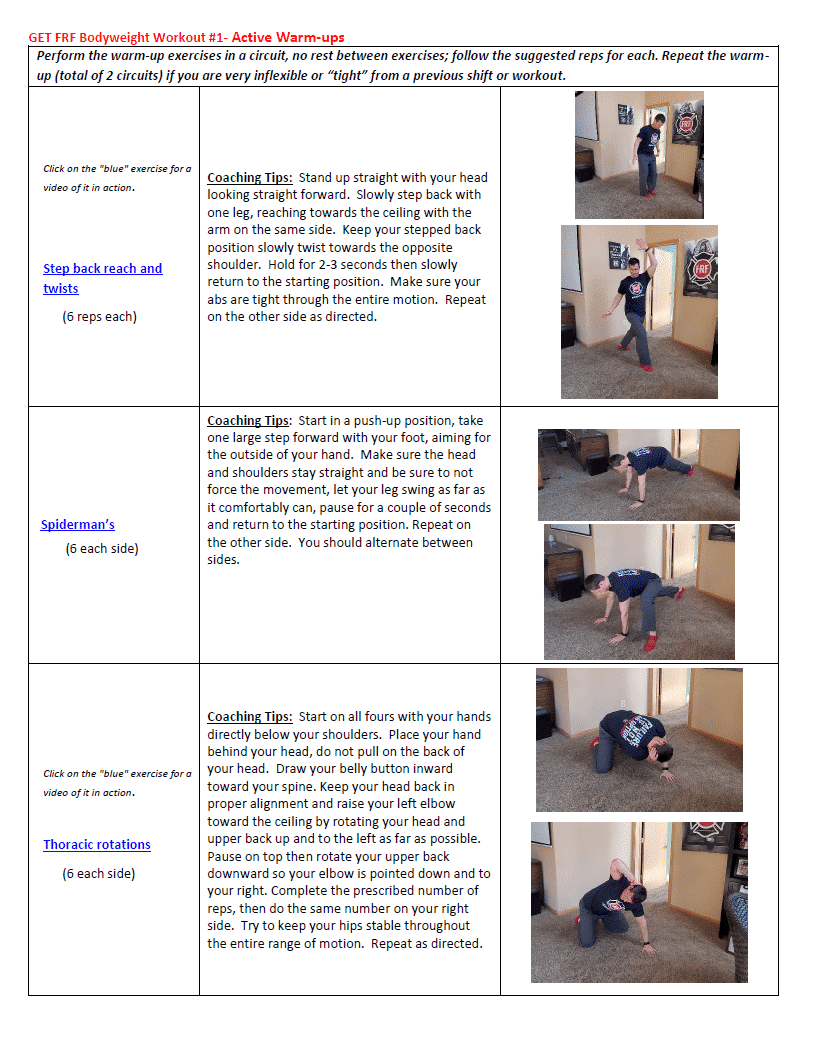 bw #1 overview picture- active warm ups