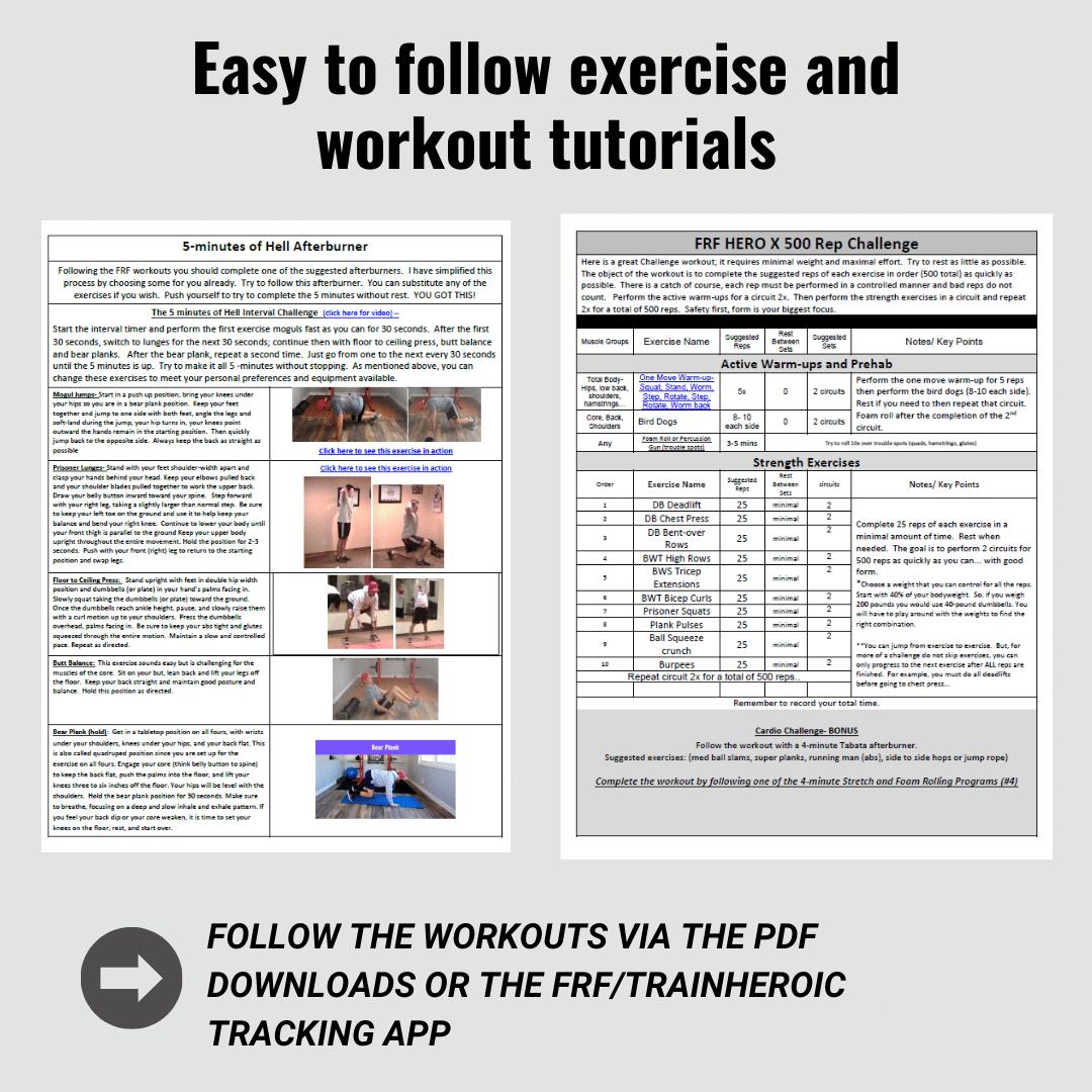EXERCISE TUTORIALS