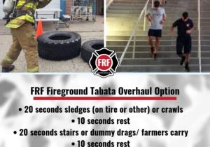 _FRF fireground Tabata Interval Overhaul